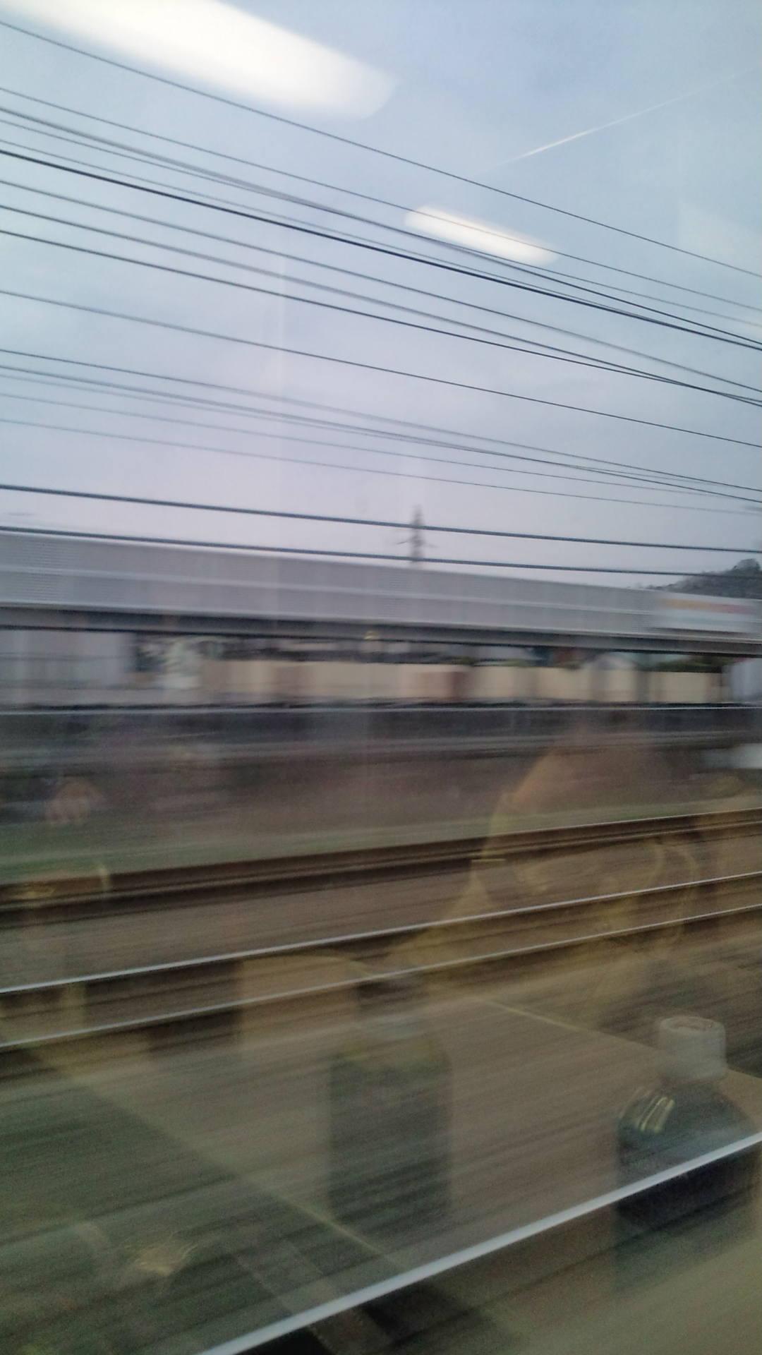 東海道線の旅。
